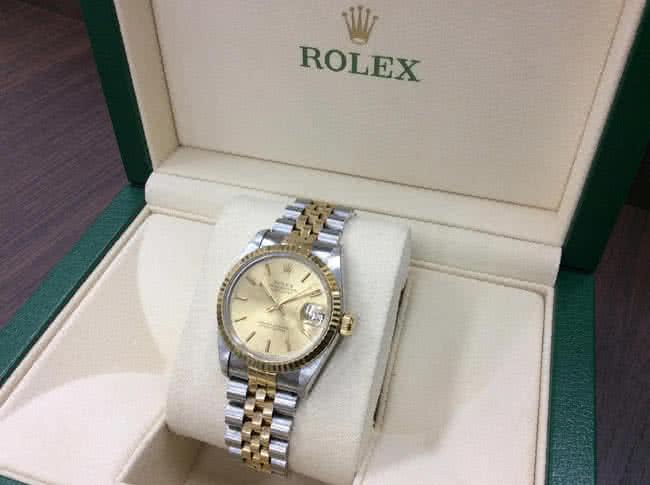 ロレックス・デイトジャスト・68273の腕時計を買取 難波 天王寺上本町店