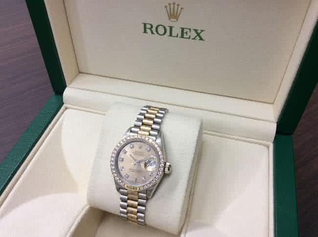 ロレックス・デイトジャスト・69149G・BICの腕時計を買取|難波|天王寺上本町店