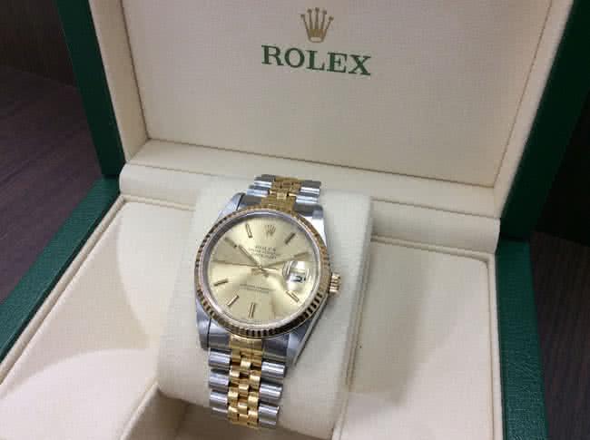 ロレックス・デイトジャスト・16233の腕時計を買取 難波 天王寺上本町店