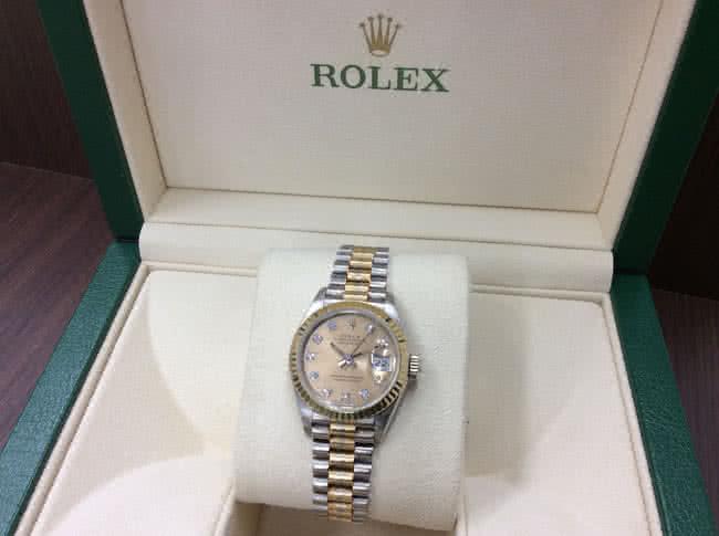 ロレックス・デイトジャスト・69179Bの腕時計を買取|難波|天王寺上本町店