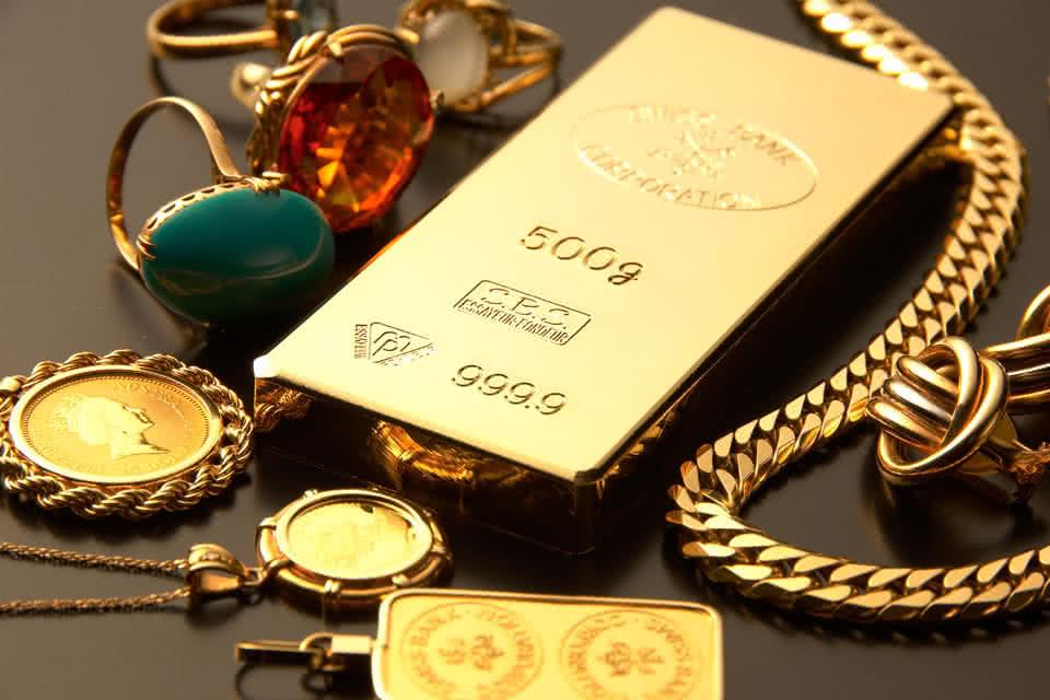 違いは純度にあり。金の種類について