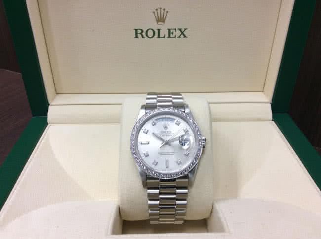 ロレックス・デイデイト・18346Aの腕時計を買取 難波 天王寺上本町店