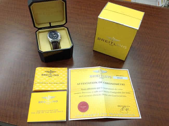 ブライトリング・プロフェッショナル・B-2・A42362の腕時計を買取|神戸|住吉駅前店
