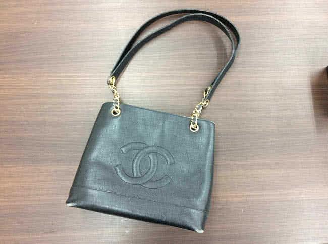 シャネル・キャビアスキン・ココのチェーントートバッグを買取 梅田 都島店