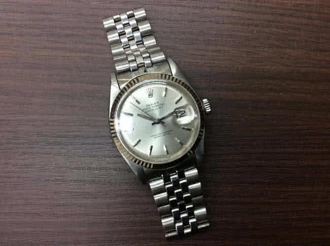ロレックス・デイトジャスト・1601の腕時計を買取|難波|天王寺上本町店