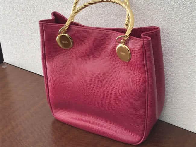 WAKO・リザード調のハンドバッグを買取|名古屋|名古屋平針店