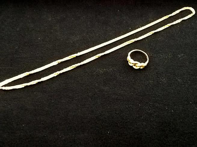 貴金属・K18リング・ネックレスを買取|大阪府|豊中店