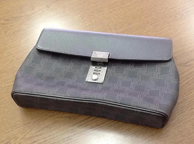ダンヒル・セカンドバッグを買取|大阪府|箕面店
