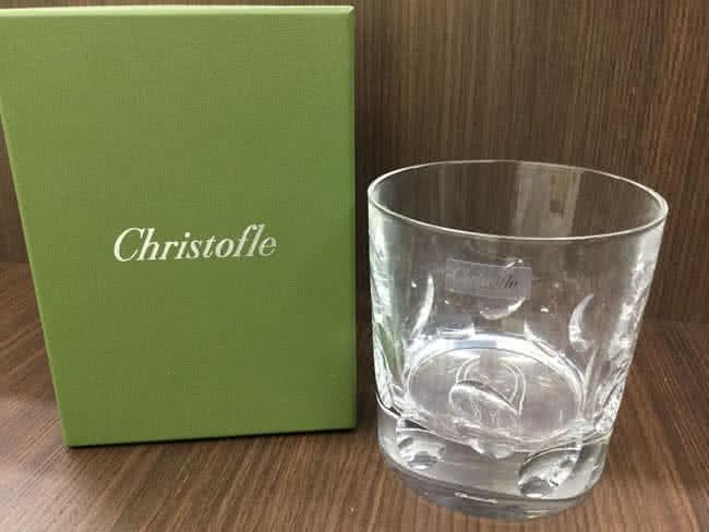 クリストフルのロックグラスを買取 大阪 茨木店