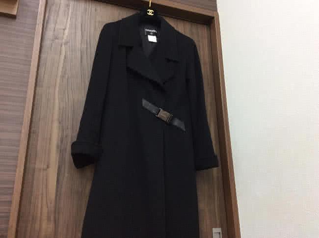 シャネル・カシミアのロングコートを買取|難波|天王寺上本町店