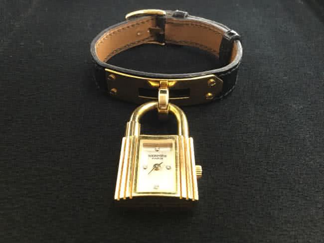 エルメス・K18素材・4Pダイヤのケリーウォッチを買取|浦和|浦和店