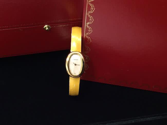 カルティエ・ミニベニュワールの腕時計を買取|大阪|リノアス八尾店