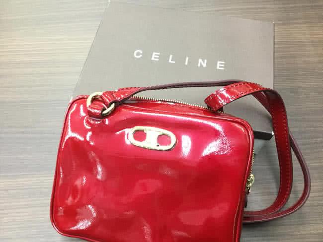 セリーヌ・エナメルのショルダーバッグを買取|大阪|谷町店