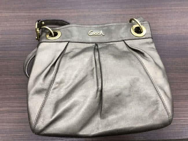 コーチのレザーバッグを買取 名古屋 名古屋徳重店