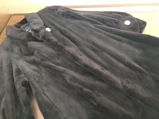 サガ・毛皮・シェアードミンクのコート