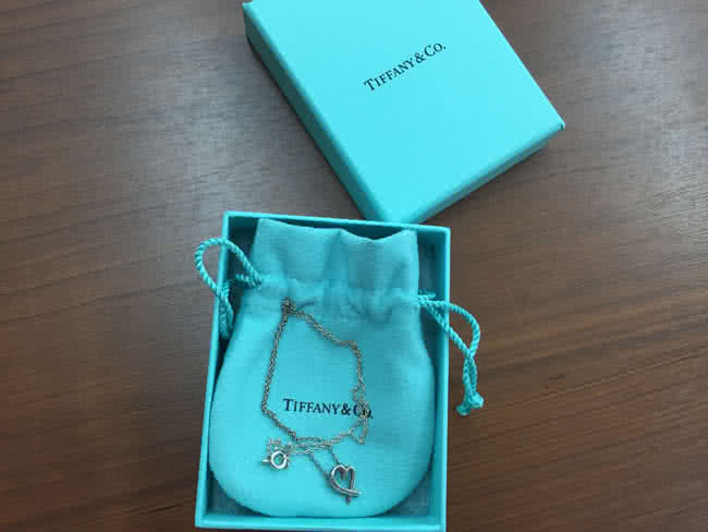 ティファニー・SV925・ラヴィングハートのネックレスを買取|岡崎|東岡崎店