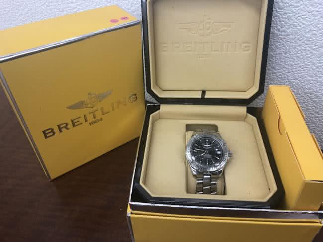 ブライトリング・コルトオーシャンの腕時計を買取|名古屋|名古屋藤が丘店