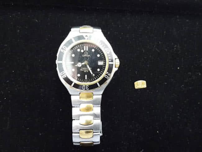 オメガ・シーマスター・200mの腕時計を買取 梅田 野田店