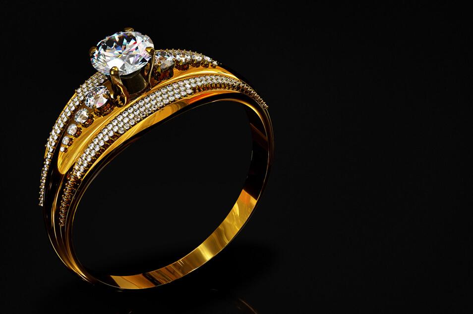 指輪や眼鏡など金の製品の買取価格はどう決まるの?