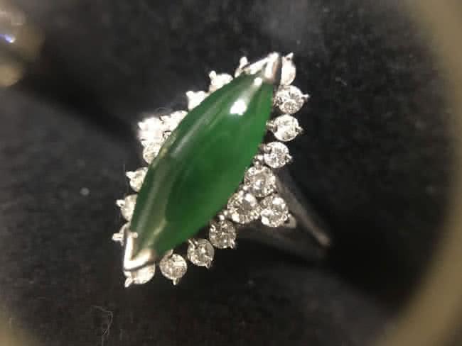 ジュエリー・翡翠・ダイヤのリングを買取|横浜|横浜青葉台店