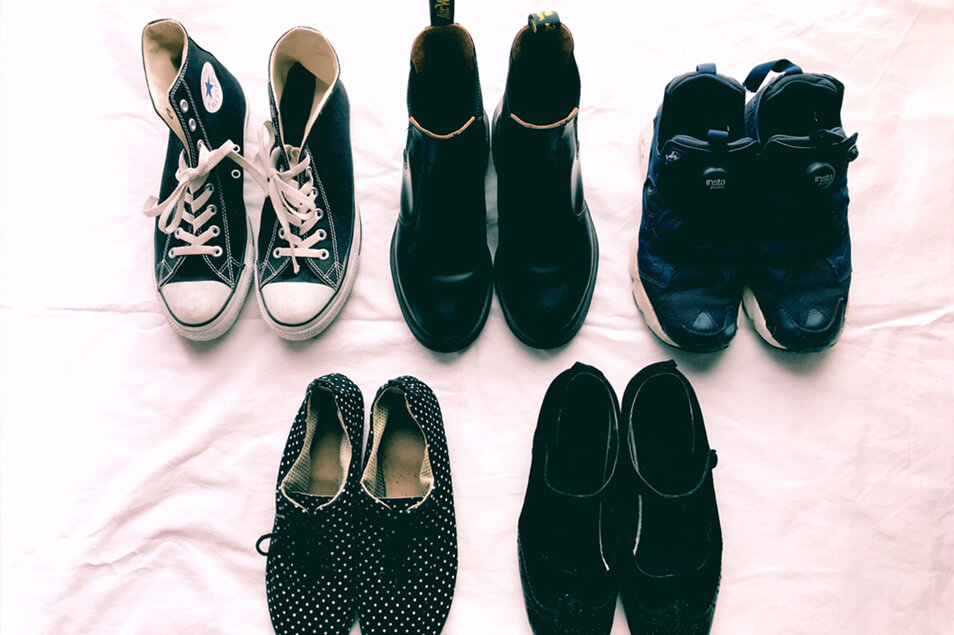 ミニマリストの靴選び。全部で何足?どんな靴を持ってるの?