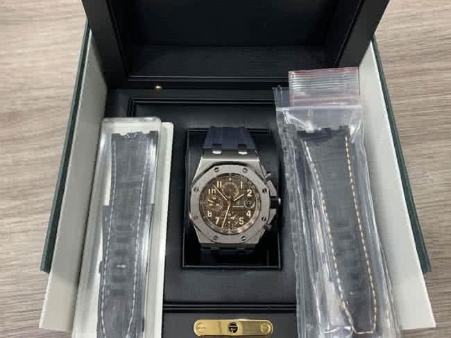オーデマピゲ・ロイヤルオーク・オフショアの腕時計を買取 東京・港区 白金台プラチナ通り店