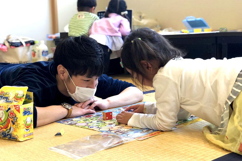 子どもたちの見守りボランティア