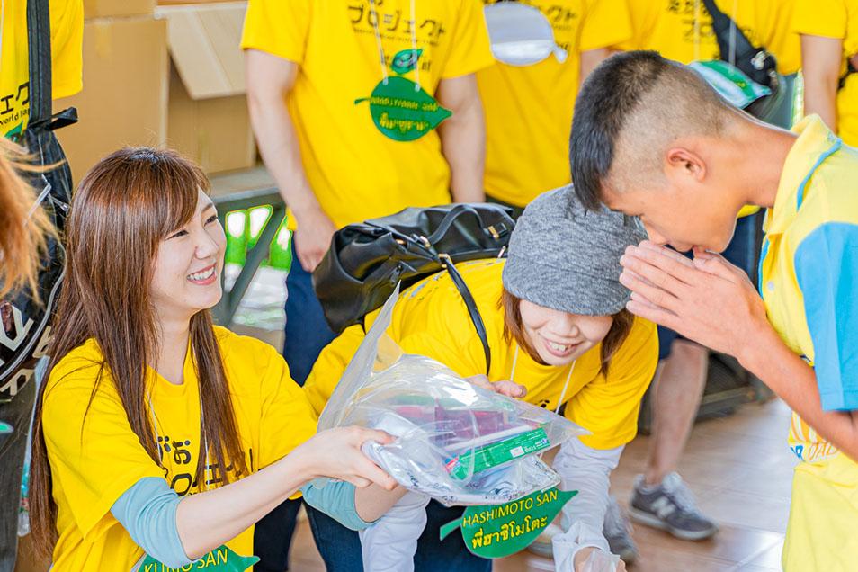 【えがおプロジェクト】海外ボランティアに行ってきました!