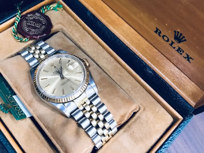 ロレックス・16233・デイトジャストの腕時計を買取