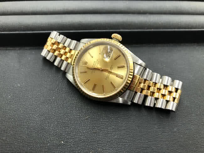 ロレックス・デイトジャスト・1993年製造・16233の腕時計を買取|埼玉|買取センター大和田店