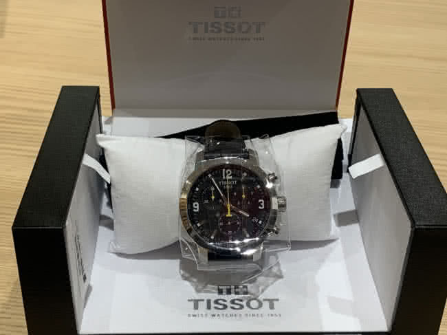 ティソ・クロノグラフ・T055417Aの腕時計を買取|東京・台東区|上野マルイ店