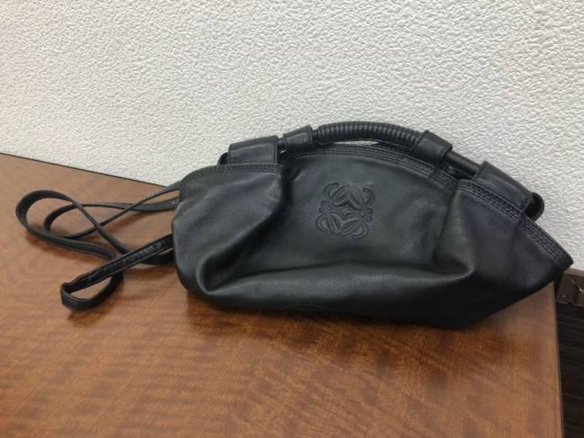 ロエベ・ナッパアイレのハンドバッグを買取 名古屋 名古屋香流店