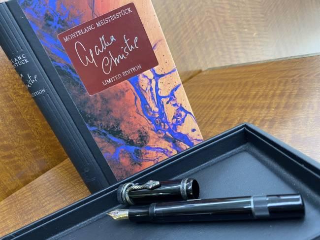 モンブラン・マイスターシュティック・アガサクリスティー・K18/925・万年筆を買取|船橋|船橋店