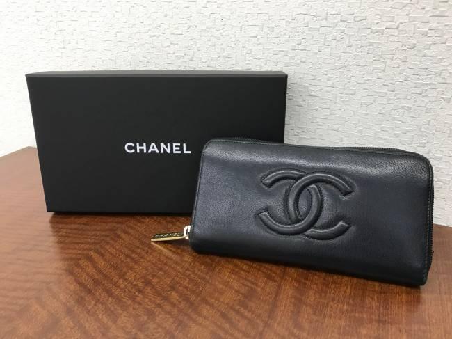 シャネル・長財布を買取|神戸|ラポルテ芦屋店