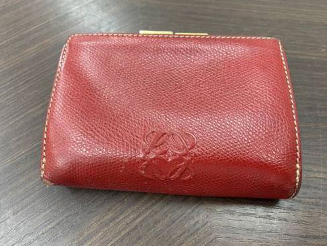 ロエベ・折財布を買取|東京|葛西店