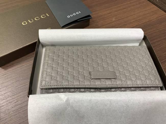 グッチ・GGマイクロ・シマ・二つ折り長財布を買取|神戸|新長田店
