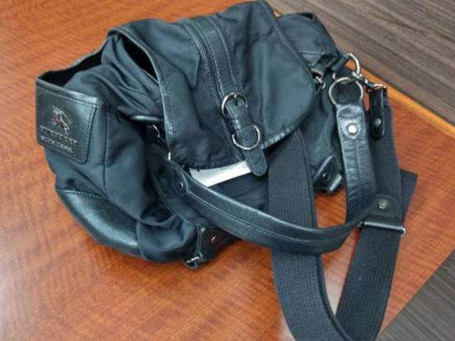 バーバリー・2way・ナイロン×レザーバッグを買取|川崎|川崎溝の口店
