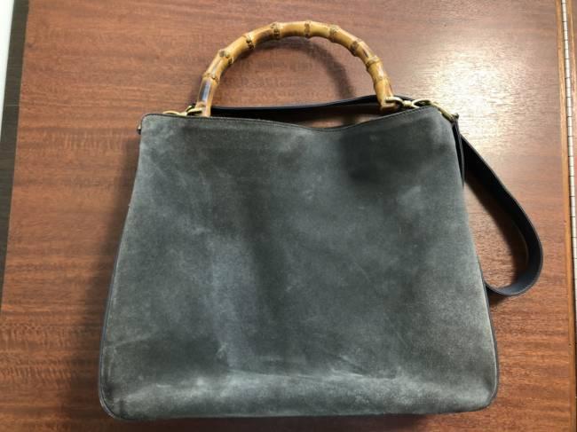 グッチ・バンブー・スーエド・2wayバッグを買取|名古屋|名古屋昭和店