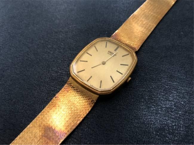 セイコー・金無垢時計を買取|難波|天王寺上本町店