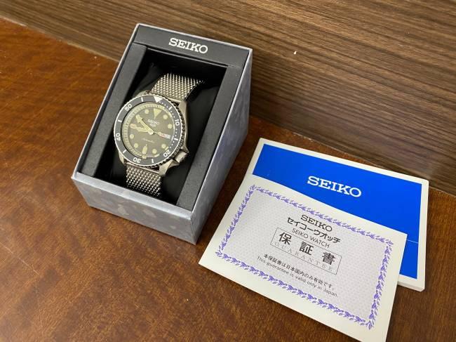 セイコー・4R36-07G0を買取 神戸 西宮店