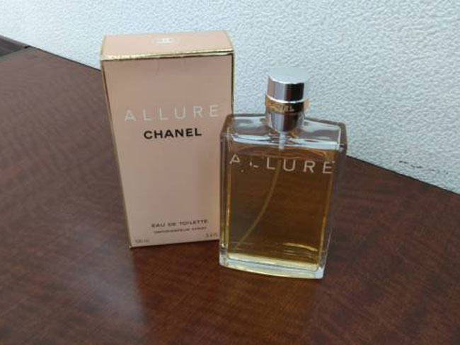 シャネル・アリュールの香水を買取|名古屋|名古屋藤が丘店