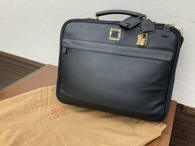 ロエベ・2WAY・旅行用・レザーバッグを買取|名古屋|名古屋香流店
