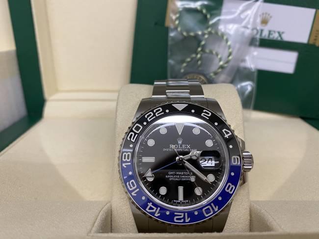 ロレックス・GMTマスターⅡ・116710BLNRを買取|難波|天王寺上本町店