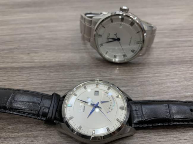 セイコー・キネティック等時計2点・5M84-0AB0、4R35-00P0を買取|東京・目黒区|中目黒店