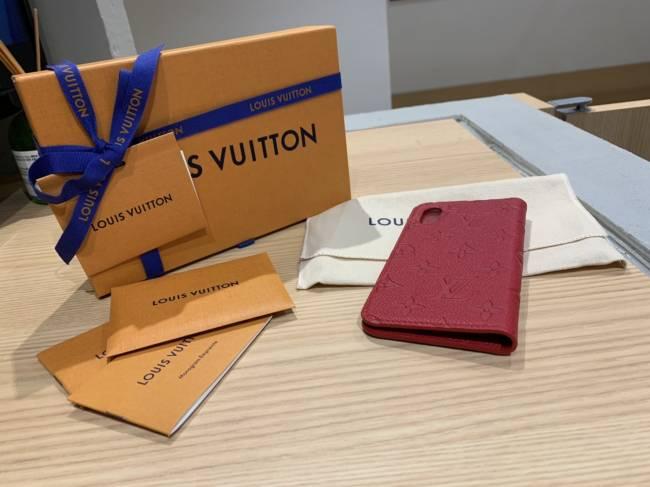 ルイヴィトン・アンプラント・フォリオ・iPhoneX・XS用カバー・M63588を買取|東京・台東区|上野マルイ店