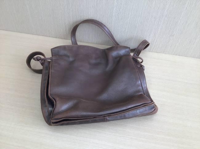 ロエベ・ナッパ・ショルダーバッグを買取|京都|河原町丸太町店