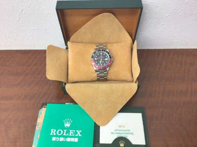 ロレックス・GMTマスターⅡ・16710を買取|姫路|姫路店