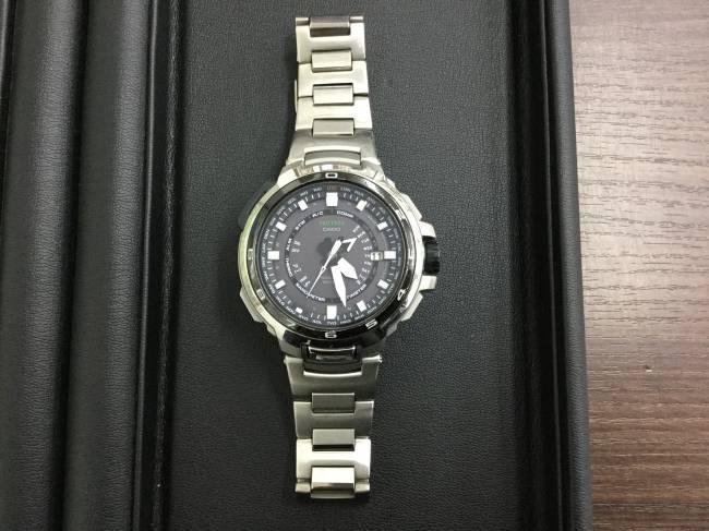 カシオ・Protrek 時計・rx-7000を買取|東京|葛西店