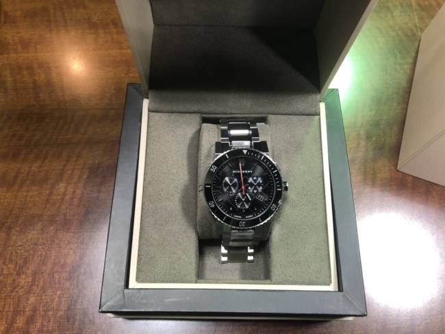 バーバリー・BU9380 クロノ時計を買取|横浜|横浜センター南店