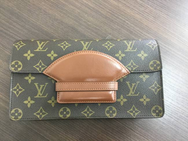 ルイヴィトン・モノグラム オールド セカンドバッグを買取 東京 葛西店